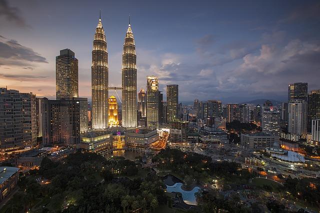 マレーシアの首都、クアラルンプール